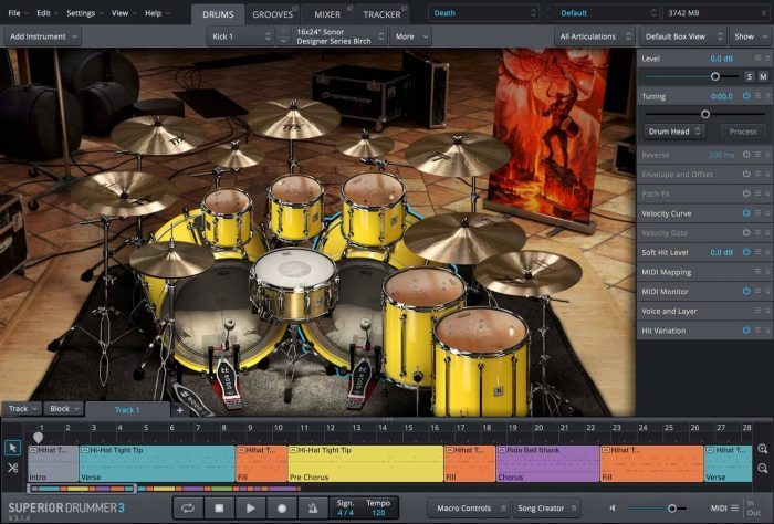 Toontrack Death and Darkness SDX Death