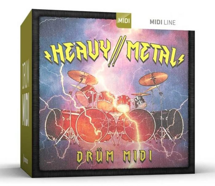 Toontrack Heavy Metal MIDI