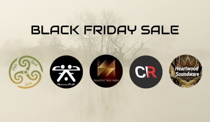 Triple Spiral Audio Black Friday