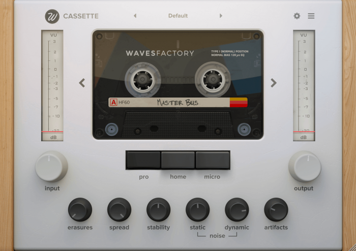 Wavesfatory Cassette Type I