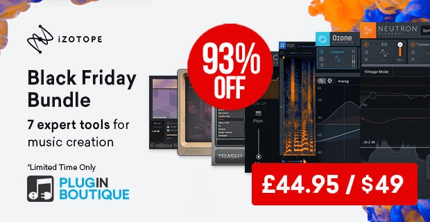 iZotope Black Friday Bundle