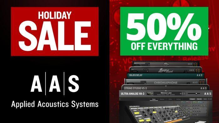 AAS Holiday Sale 2019