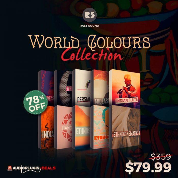 Audio Plugin Deals Rast Sound World Colours Collection