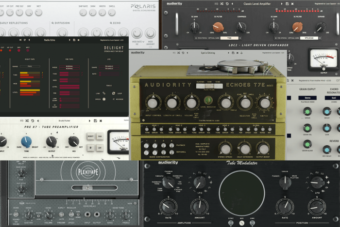 Audiority plugins