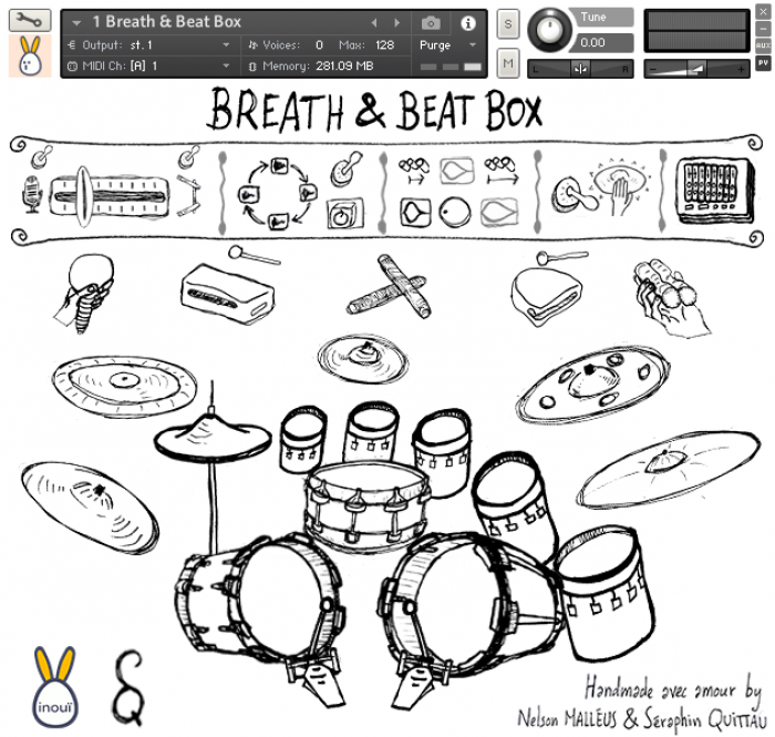 Inouï Samples Breath Beat Box Kit