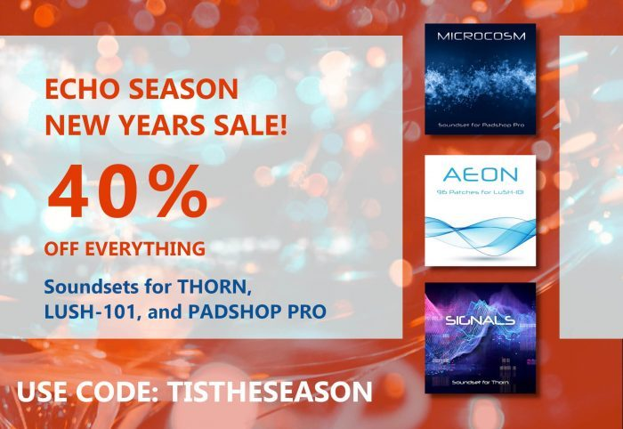 NEW YEARS ECHO SEASON SALE