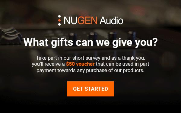 NUGEN Audio survey