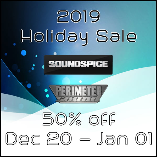 Perimeter Sound and SoundSpice 2019 Holiday Sale