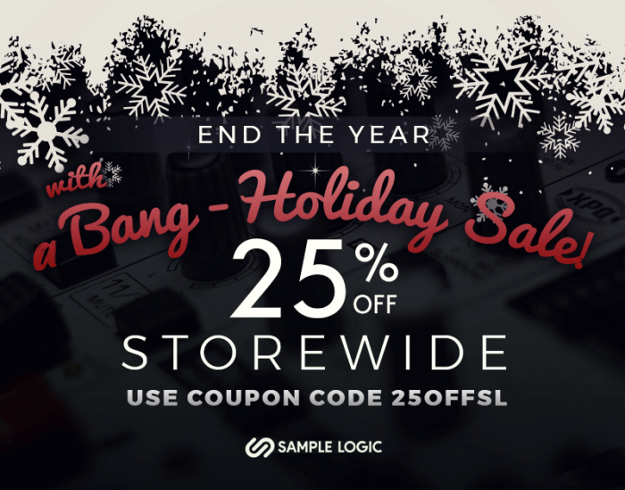 Sample Logic End the Year with a Bang Holiday Sale