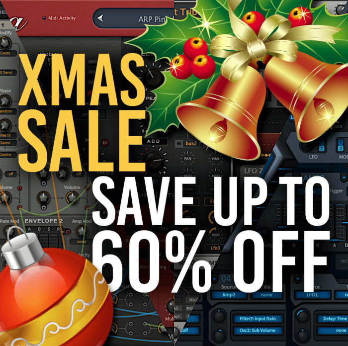 Sound Author Xmas Sale