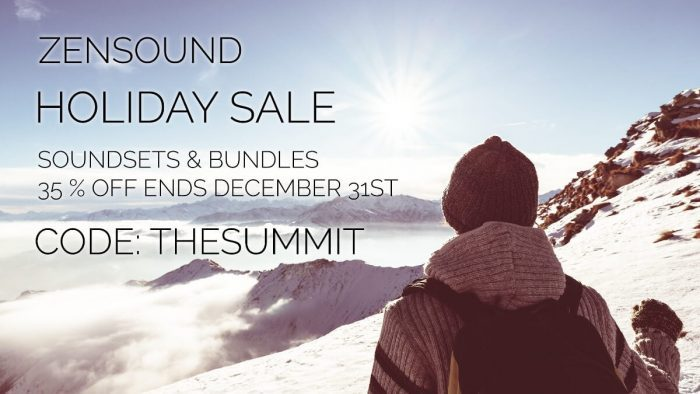 ZenSound Holiday Sale