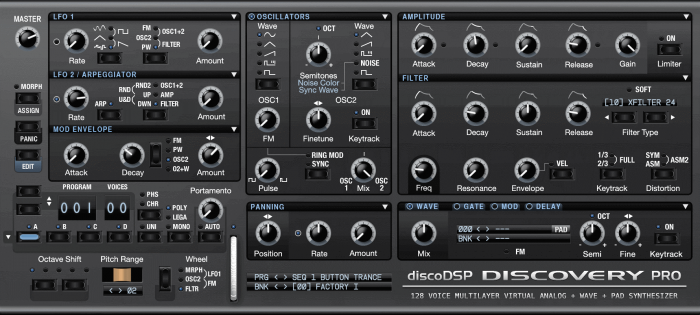 discoDSP Discovery Pro 6.9