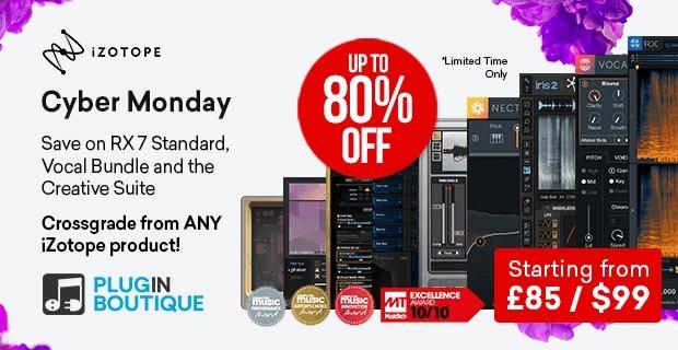 iZotope CyberMonday Sale