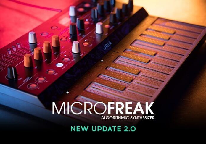 Arturia MicroFreak update