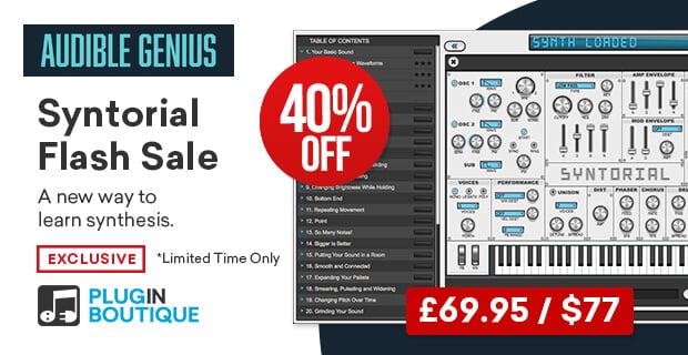 Audible Genius Syntorial 40 OFF