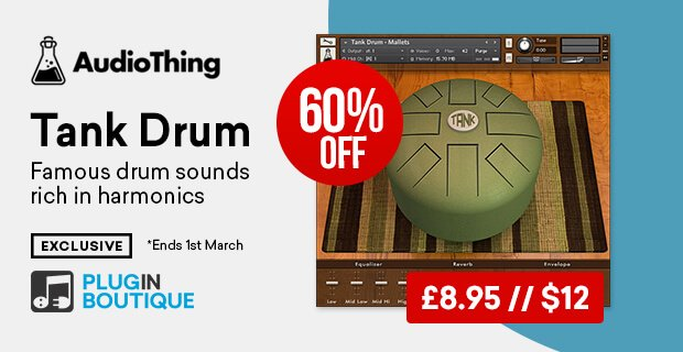 AudioThing Tank Drum