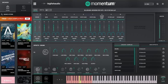 Big Fish Audio Momentum