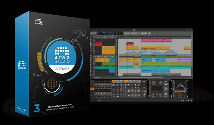 Bitwig Studio 16 Track