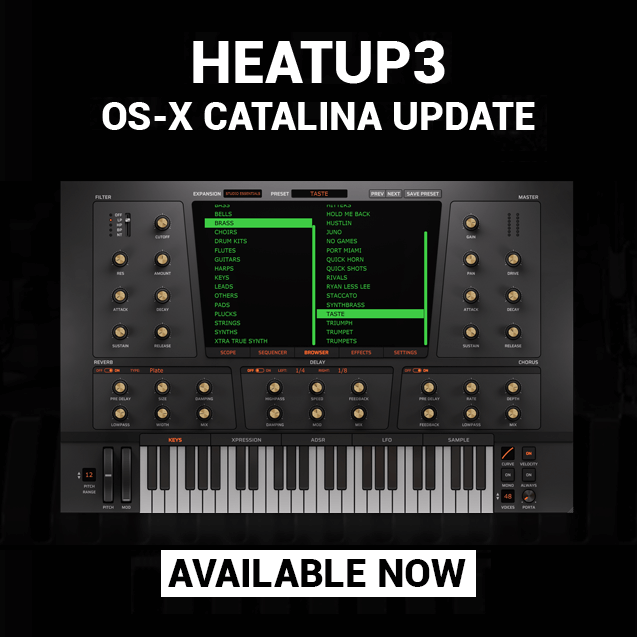 Initial Audio HeatUp3 Catalina
