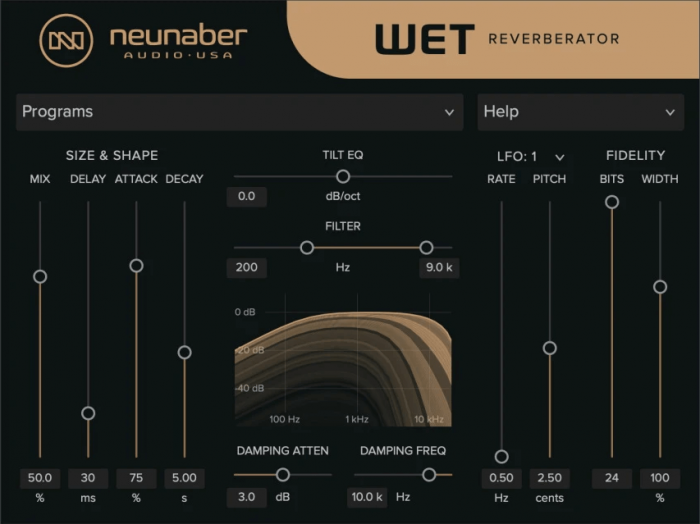 Neunaber Wet Reverberator