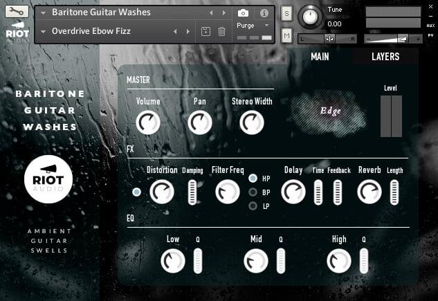 Riot Audio Baritone Guitar Washes   Main Page
