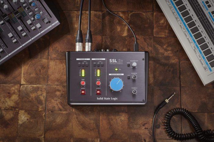 SSL2+ audio interface