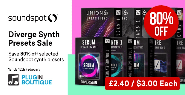SoundSpot Diverge Synthesis Sale