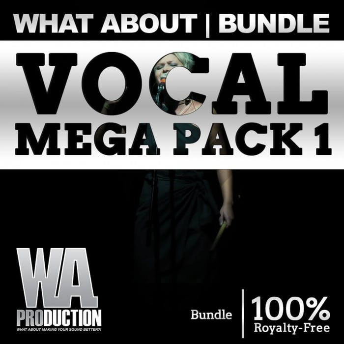 WA Production Vocal Mega Pack 1
