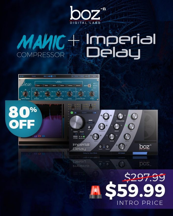 APD Boz Digital Manic Compressor and Imperial Delay