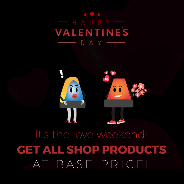 APD Valentines Day Sale 2020