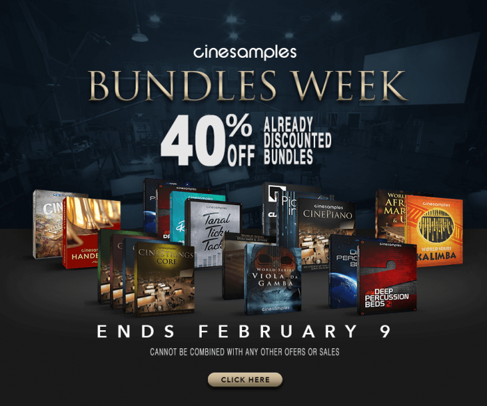 Cinesamples Bundles Week
