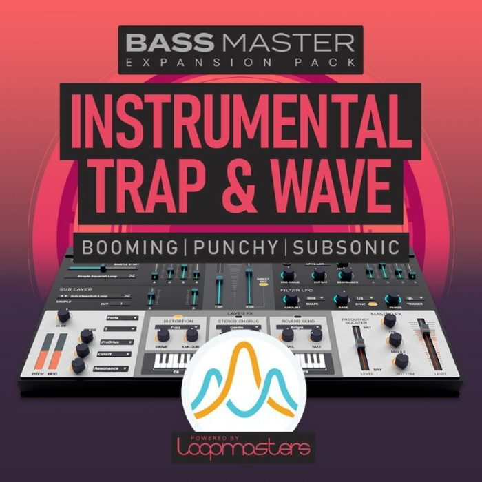 Loopmasters Bass Master Instrumental Trap and Wave