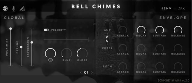 Sonixinema Bell Chimes GUI