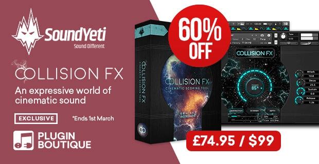 Sound Yeti Collision FX 60 OFF