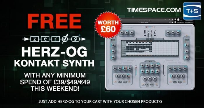 TimeSpace Zero G synth giveaway