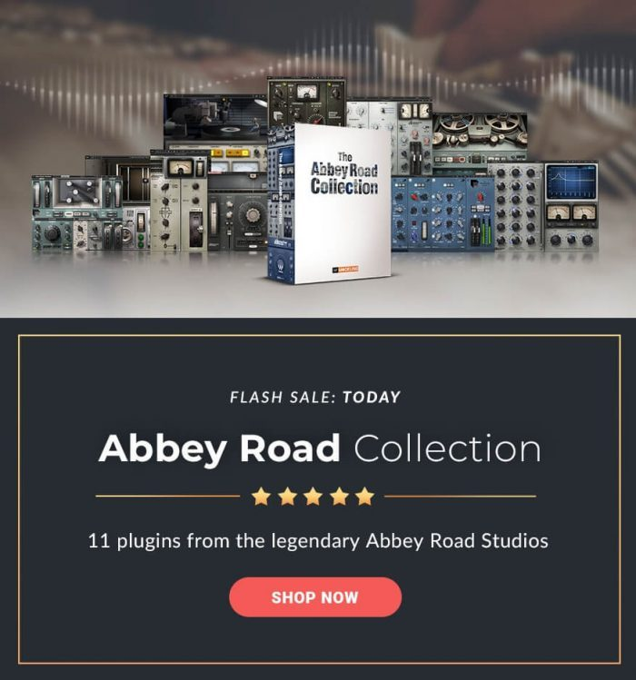 Waves Abbey Road Collection Flash Sale