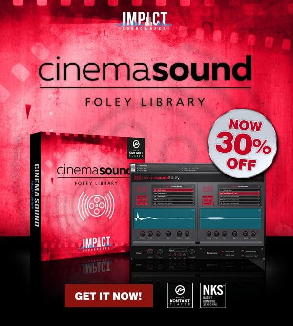ISW Cinema Sound Foley Library 30 OFF