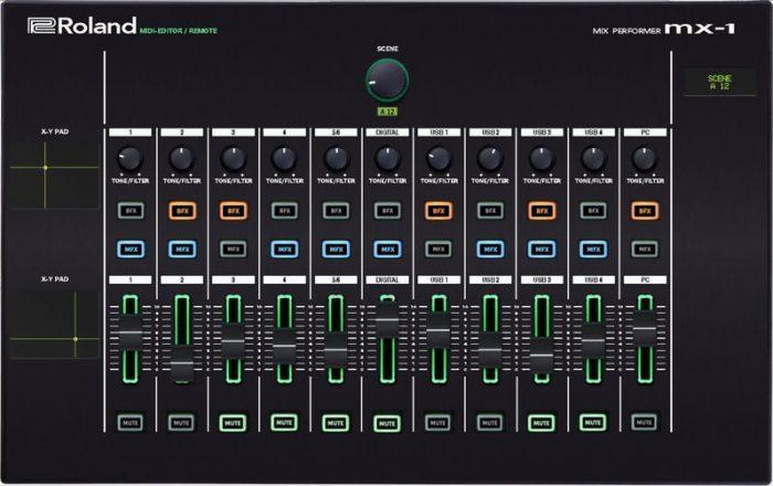 Momo Roland MX 1 editor controller