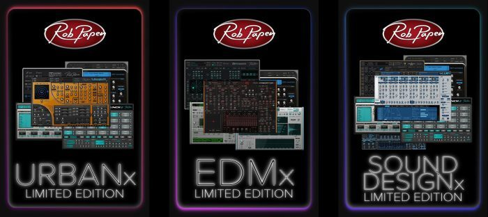 Rob Papen Limited Edition Urban EDM Sound Design