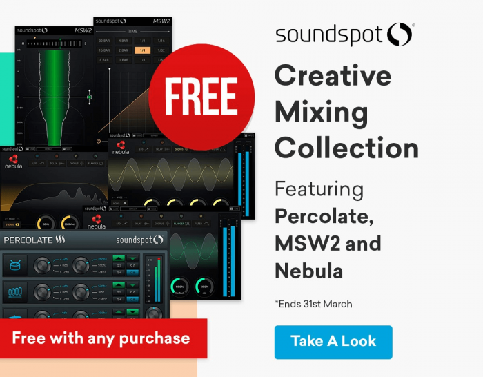 SoundSpot Creative Mixing Collection FREE