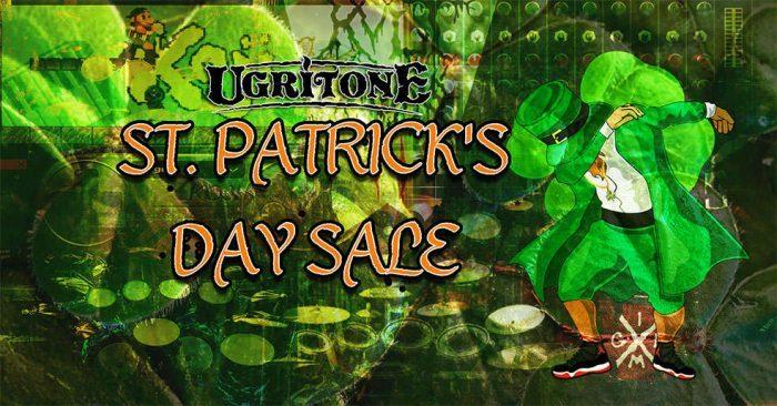 Ugritone St Patricks Day Sale
