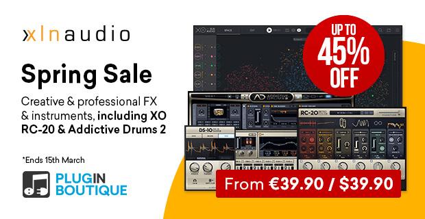 XLN Audio Spring Sale 2020