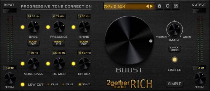 2getheraudio Rich