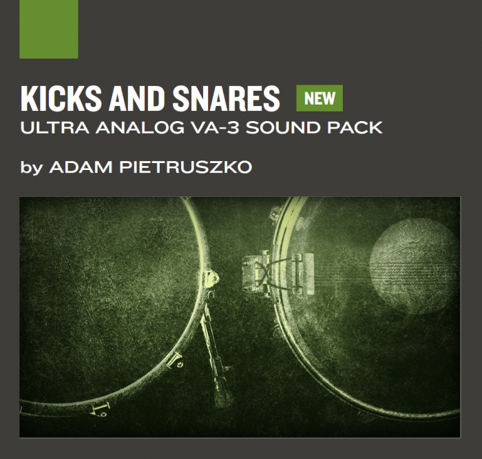 AAS Kicks and Snares for Ultra Analog VA3