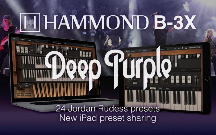 Hammond B3X update Deeo Purple