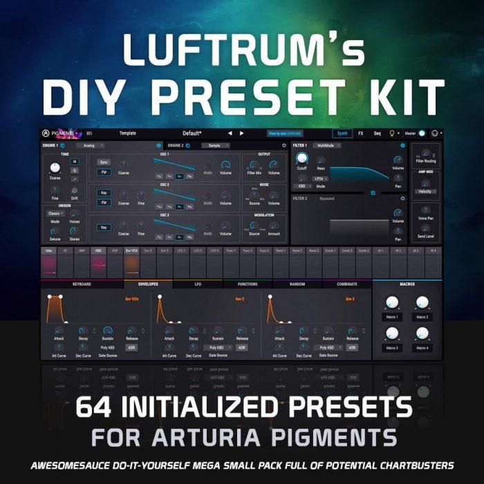 Luftrum DIY Preset Kit for Pigments