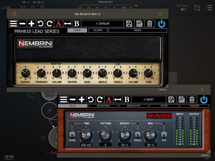 Nembrini Audio MRH810 Delay3000 iOS AUv3