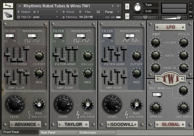 Rhythmic Robot Tubes and Wires