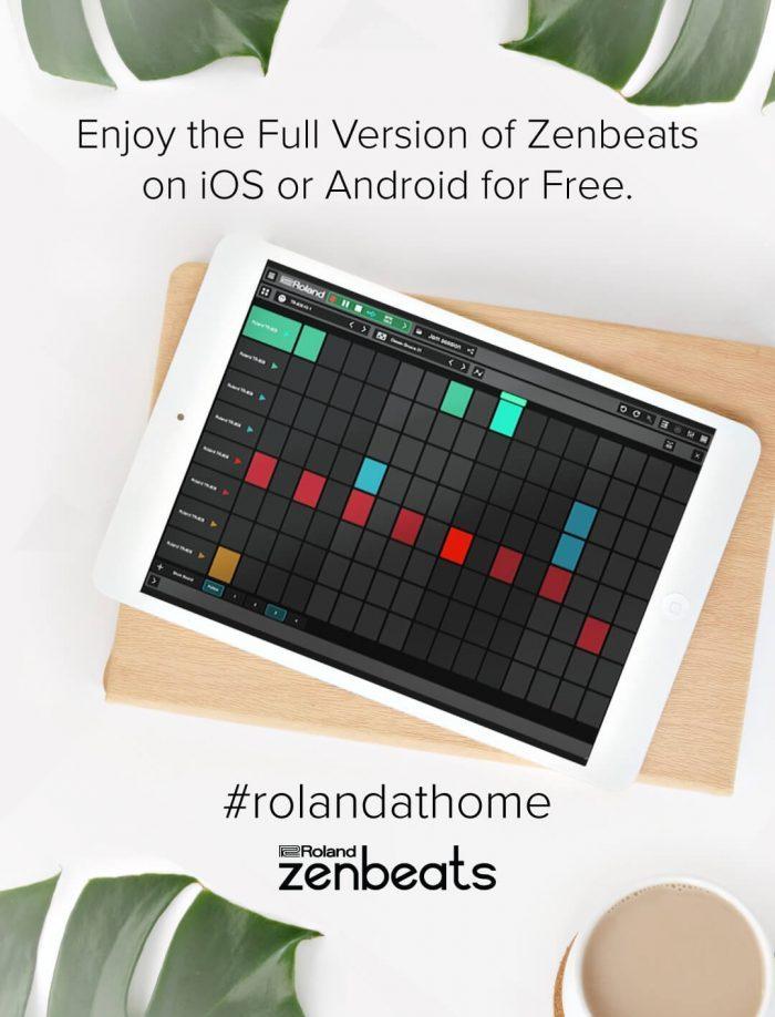 Roland at home Zenbeats