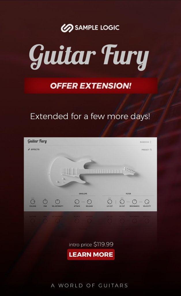 Sample Logic Guitar Fury extended
